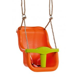 KBT LUXE hinta, átalakítható, két részes, 2,5m PP kötéllel narancs/lime